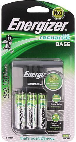Ładowarka ENERGIZER do akumulatorów Ni-MH AA, AAA, R03, R6