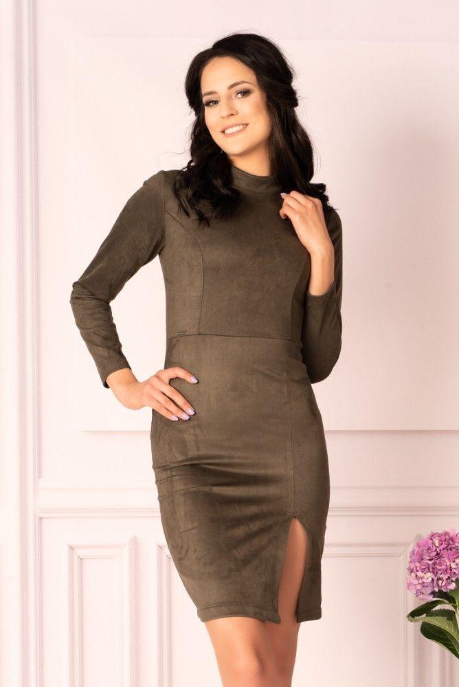 Arwena Khaki sukienka