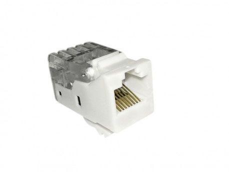 Gniazdo modułowe ethernet konektor KA11-U CAT5E Keystone RJ45 8/8 JACK TEM do PD12 2106