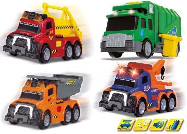 Mix małych pojazdów miejskich, 4 rodzaje - Action Series