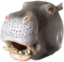 Ciao 21199  lateksowa maska z motywem konia nielpowego, szara