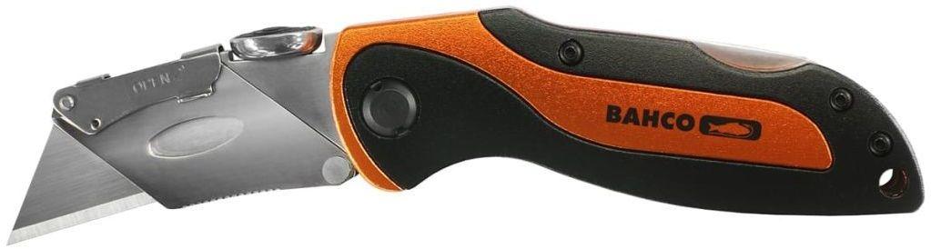 Zestaw narzędzi na prezent BAHCO [GIFTPACK650]: skrobak z ostrzem widiowym 650, nóż turystyczno-sportowy KBSU-01, miara 5m MTC-5-16