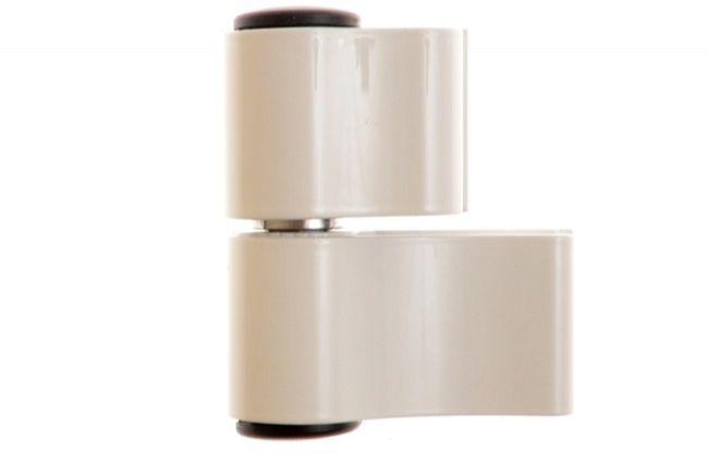 Zawias dwuczęściowy Master Dynamika L-67 mm do aluminium, biały
