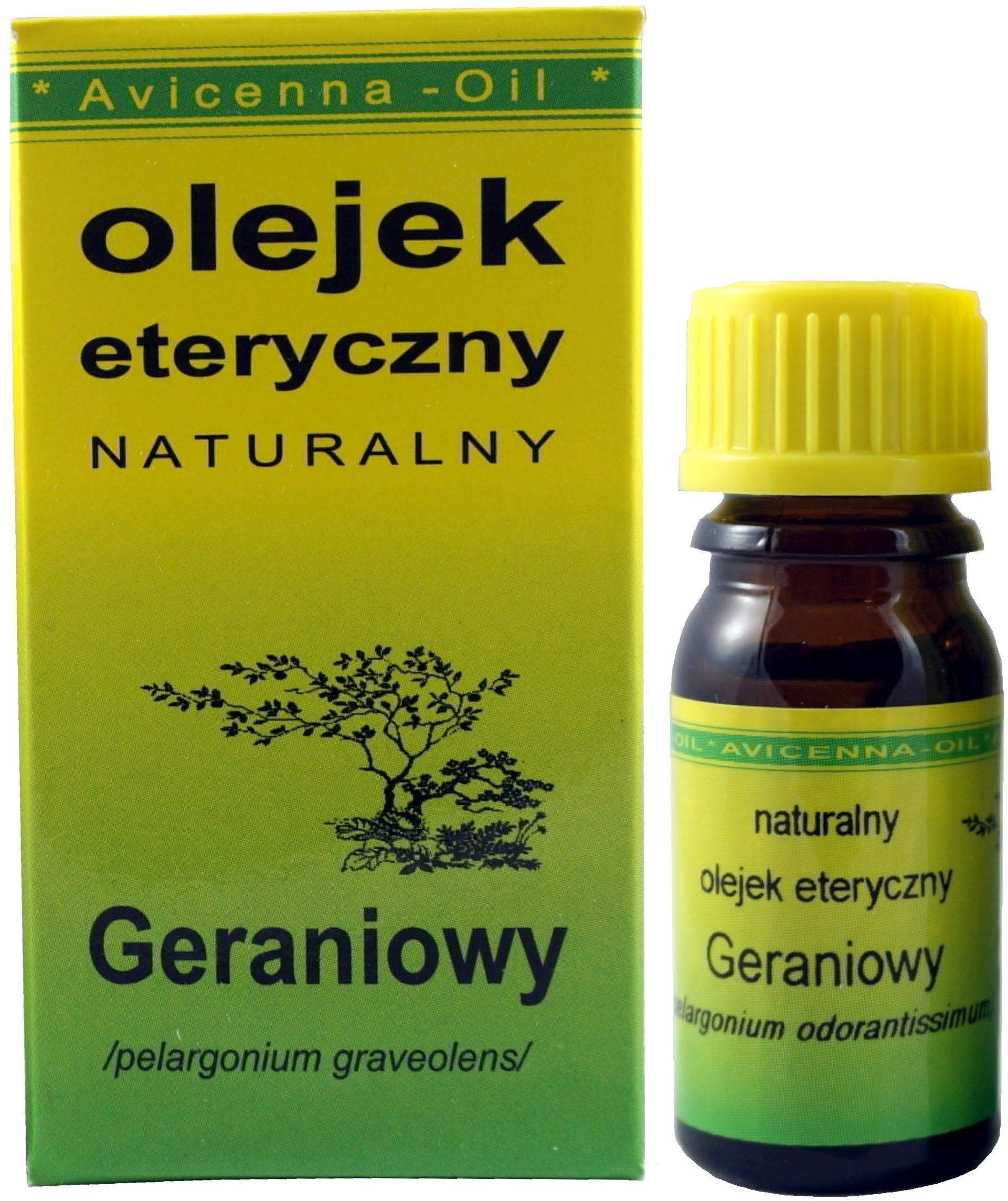 Olejek eteryczny Geraniowy - 7ml - Avicenna Oil