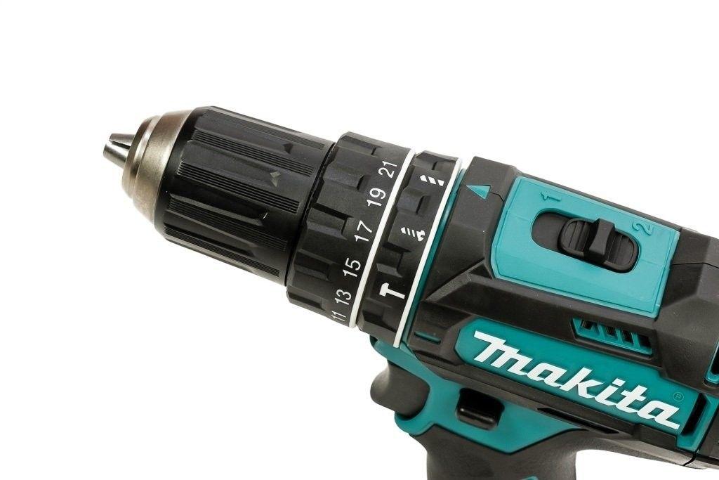 wiertarko-wkrętarka udarowa Makita DHP482RFJ 18V Li-Ion 2x3,0Ah