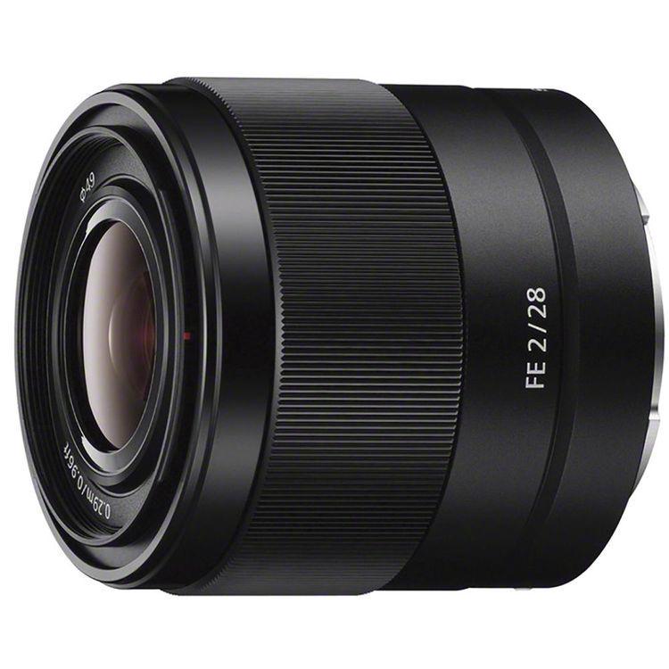 Sony FE 28mm F2 - obiektyw stałoogniskowy, SEL28F20 Sony FE 28 mm F2 / SEL28F20 - obiektyw
