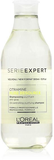 Loreal Expert Pure Resource Szampon oczyszczający do włosów normalnych i tłustych 300 ml