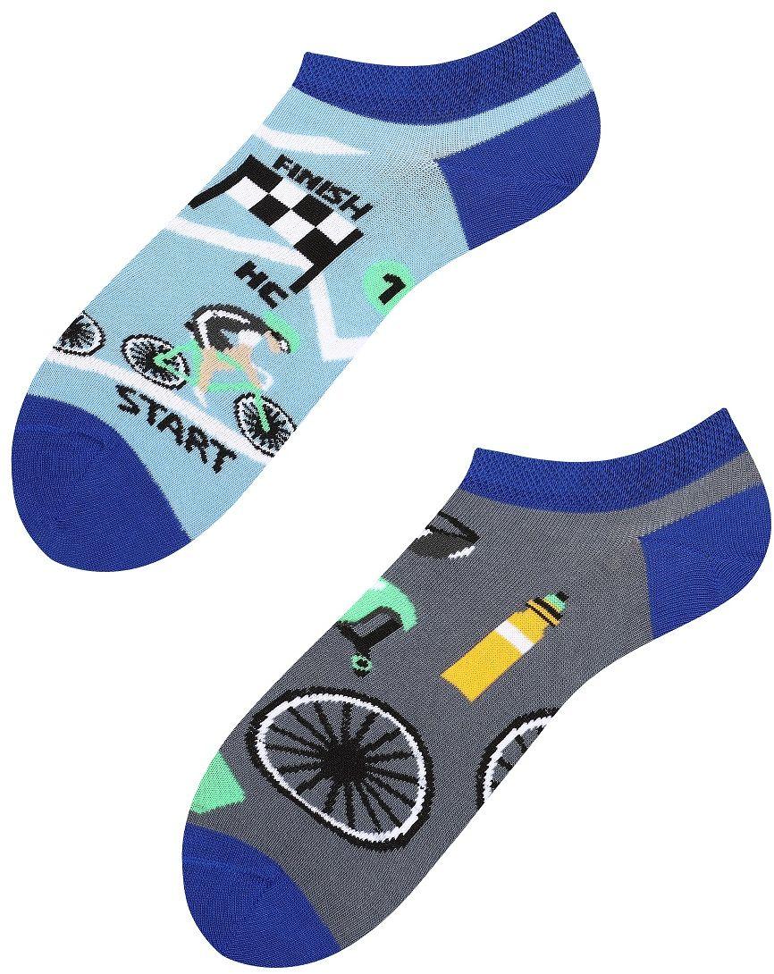 Stopki, Tour de Bike low, Todo Socks, Rowery, Wyścig, Kolorowe Skarpetki
