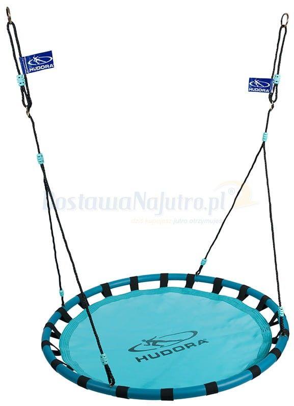 Huśtawka HUDORA gniazdo niebieskie 120 cm max 120 kg pełne siedzisko