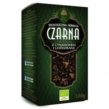 Herbata czarna z CYNAMONEM I GOŹDZIKAMI liściasta BIO 100 g Dary Natury