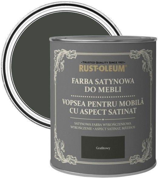Farba do mebli Rust-Oleum grafitowy satyna 0,75 l