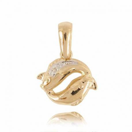 Złoty znak zodiaku Z1 RYBY