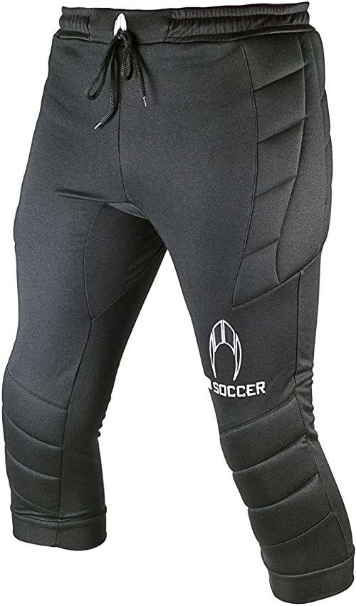 Ho Soccer Torwart spodnie 3/4, uniseks, dla dzieci, 050558, czarne, 46