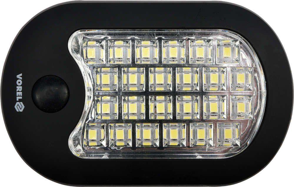 LAMPA RĘCZNA 24+3 LED Vorel 82731 - ZYSKAJ RABAT 30 ZŁ