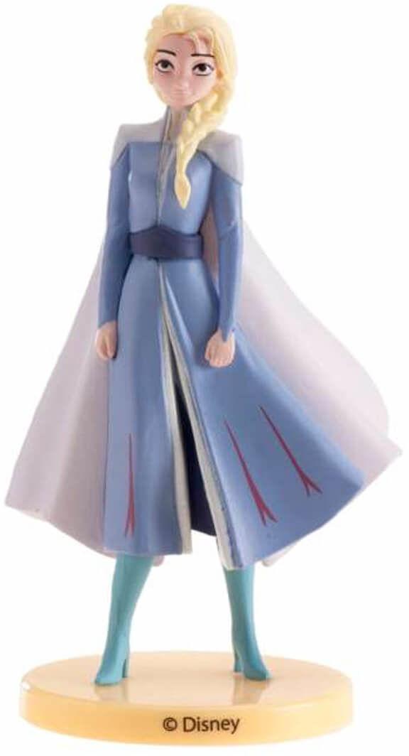 Dekoracyjna figurka tortowa Elsa Kraina Lodu - 1 szt.