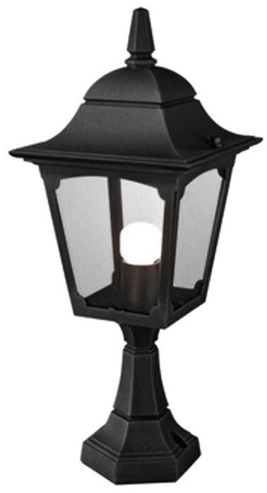 Lampa stojąca zewnętrzna Chapel CP4 BLK Elstead Lighting klasyczna oprawa w kolorze czarnym