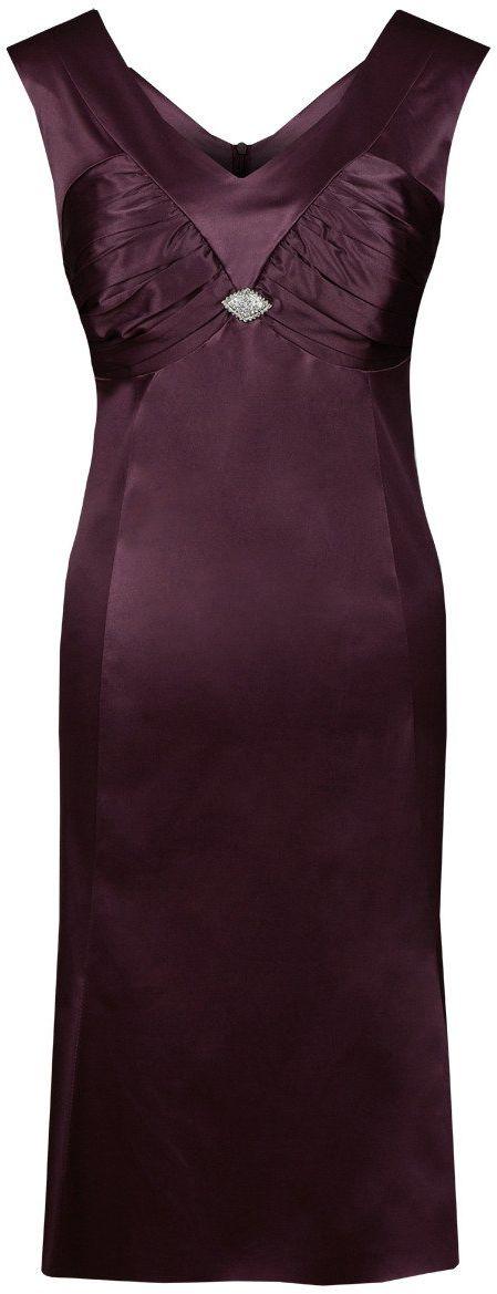 Sukienki Sukienka Suknie FSU659 BAKŁAŻAN