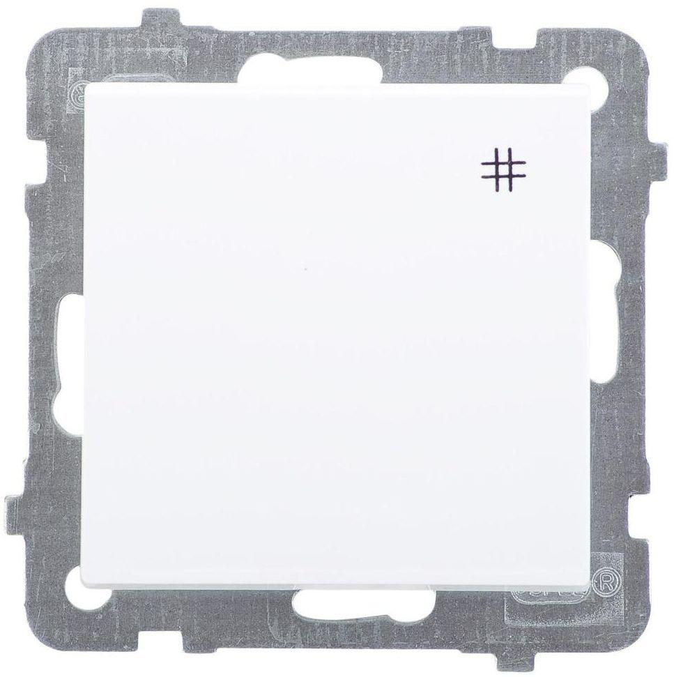 Włącznik pojedynczy SONATA Biały OSPEL