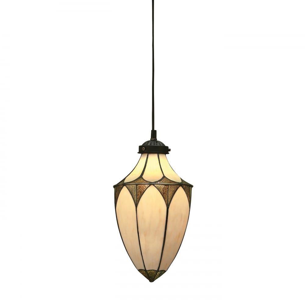 Lampa wisząca TIFFANY BROOKLYN - 63975 - INTERIORS 1900 - Wyprzedaż  Skorzystaj z kuponu -10% -KOD: OKAZJA