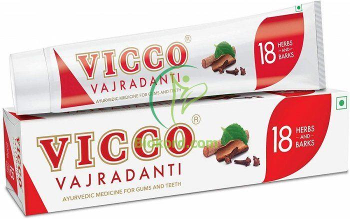 Pasta do Zębów bez Fluoru VICCO, 200 g