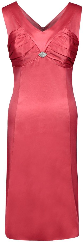 Sukienka FSU659 KORALOWY