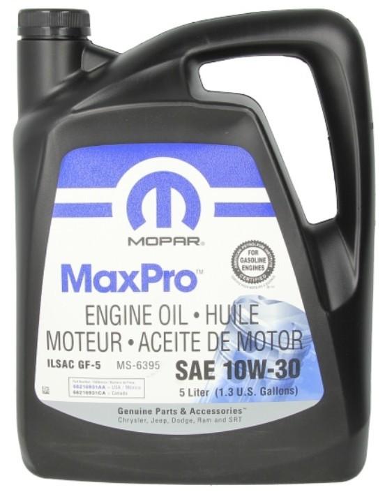 Olej Mopar 10W30 5 ltr