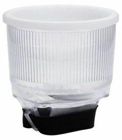 Dyfuzor sferyczny Foxfoto P4 do lamp błyskowych - przezroczysty