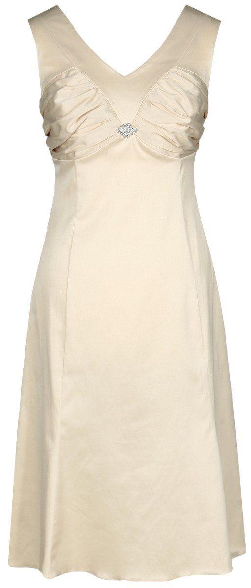 Sukienki Sukienka Suknie FSU659 BEŻOWY