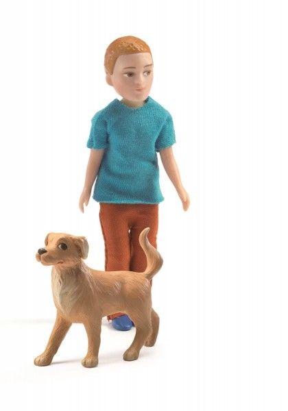 Djeco - Figurka Xavier z Psem Dj07807