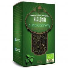 Herbata zielona z POKRZYWĄ BIO 80 g Dary Natury