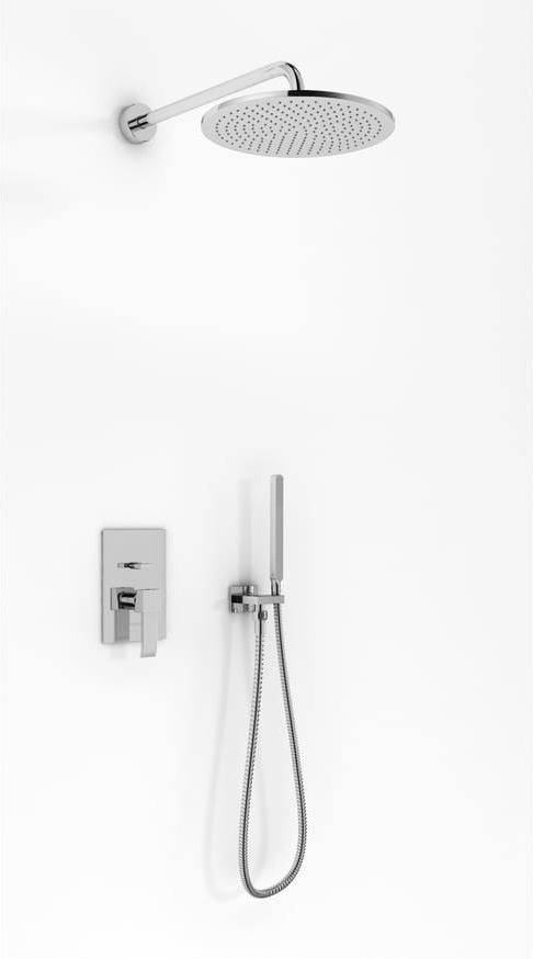 Kohlman zestaw prysznicowy podtynkowy QW210NR20 AXIS