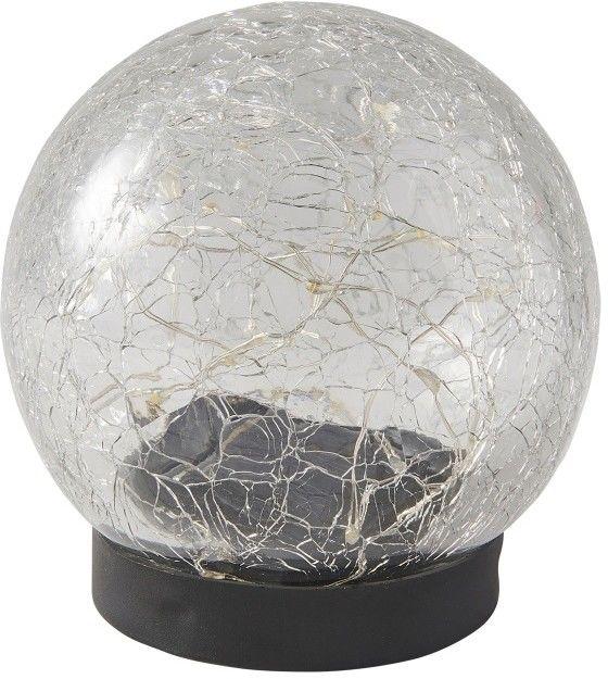 Lampa stołowa Blooma solarna pękająca kula