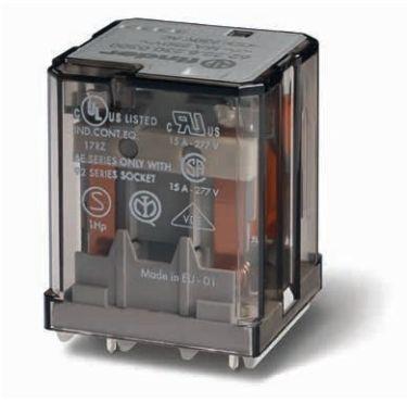 Przekaźnik mocy 16A 2 NO (DPST) 48 V DC Finder 62.22.9.048.0300 Przekaźnik mocy 16A 2 NO (DPST) 48 V DC Finder 62.22.9.048.0300