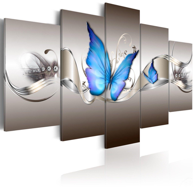 Obraz - niebieskie motyle