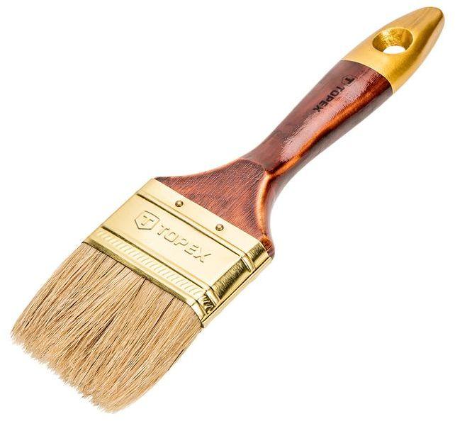 Pędzel płaski uniwersalny 3.0cala włosie naturalne skuwka stalowa 19B630