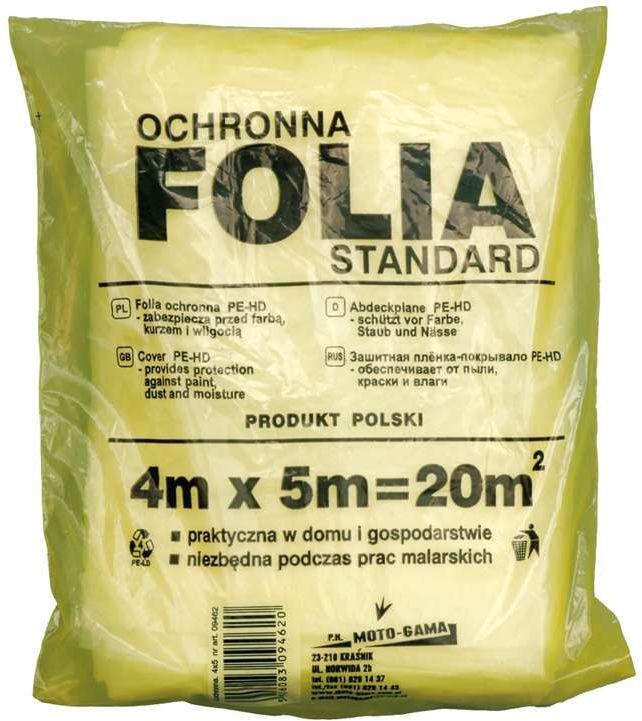 Folia malarska 4x5 m Vorel 09462 - ZYSKAJ RABAT 30 ZŁ