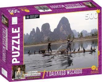 Z dalekiego wschodu. Chiny. Kolekcja Elżbiety Sęczykowskiej (puzzle 500-elem.)