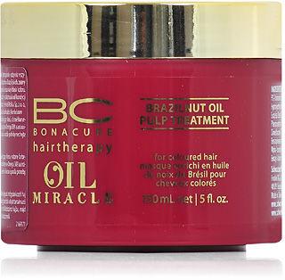Schwarzkopf BC Oil Miracle Brazilnut Oil Pulp Treatment Maska do włosów farbowanych 150 ml