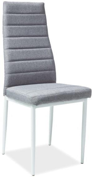 Krzesło H-266 szare/białe Signal
