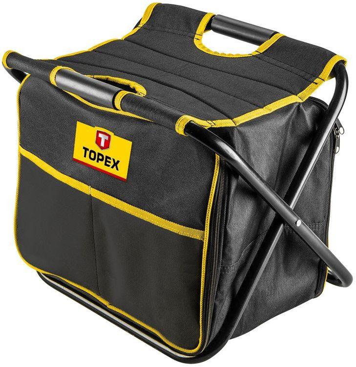 Stołek z torbą monterską 79R447