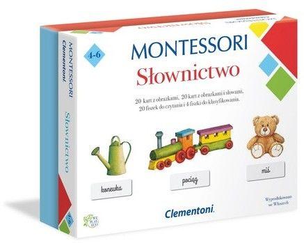 Clementoni Gra Montessori Slownictwo