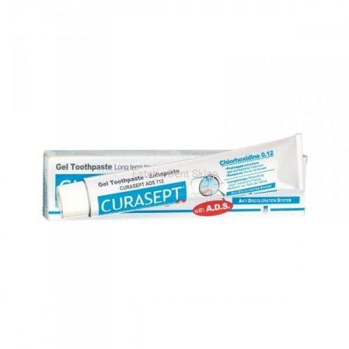 CURASEPT ADS 712 - Pasta do zębów w żelu z chlorheksydyną 0.12% 75ml