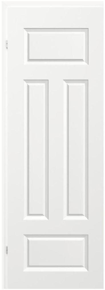 Skrzydło drzwiowe bierne MORANO Białe 80 Lewe CLASSEN