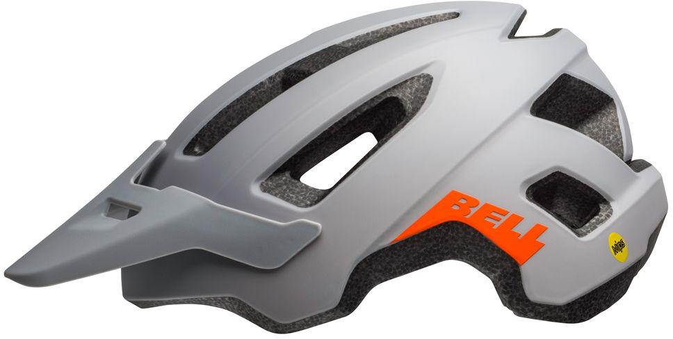 BELL kask rowerowy mtb nomad matte dark gray orange BEL-7105359 Rozmiar: 53-60,BEL-7105359