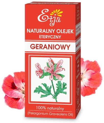 Naturalny olejek eteryczny Geraniowy 10 ml (Etja)