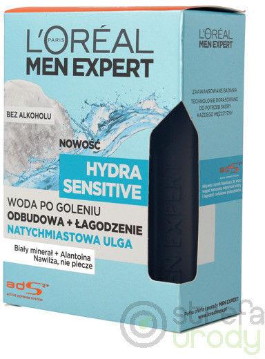 L''Oreal Men Expert Hydra Sensitive Woda po goleniu bez alkoholu 100ml