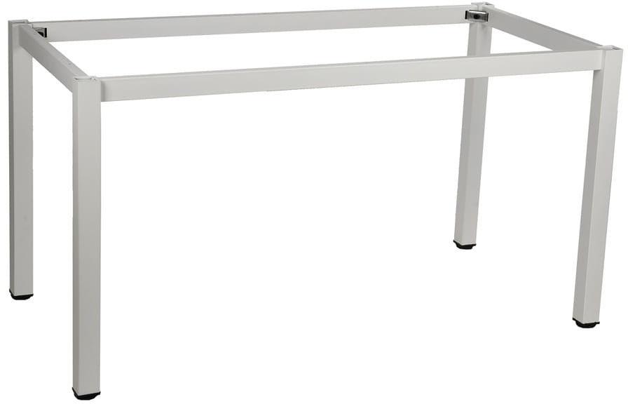 Stelaż ramowy stołu 136x66, noga kwadratowa