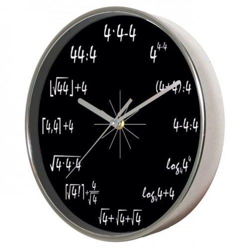 Zegar ścienny chromowany magia 4