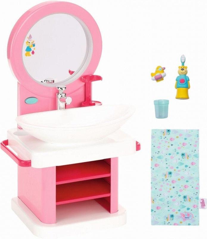 Zestaw Do Mycia Interaktywna Toaletka zlewik Baby Born Annabell