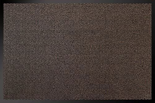 Mata identyfikacyjna 8012010 Kahors / Florac wycieraczka, polipropylen/PCW, 120 x 80 x 0,67 cm, brązowa, 80 x 120 cm